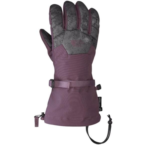 45430504c North Face Revelstoke Etip Glove Plum/Grey M NWT
